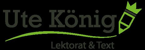 Ute König | Lektorat & Text Logo